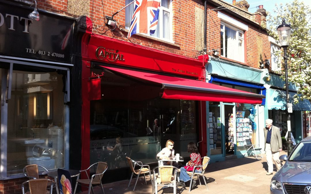 Caffe Capital #3 on Tripadvisor for Claygate – what a way to start the new year!