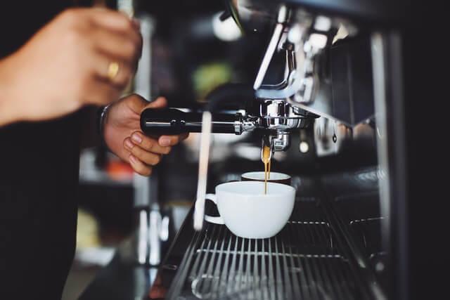 Coffee machine servicing